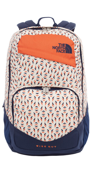 The North Face Wise Guy rugzak oranje/blauw